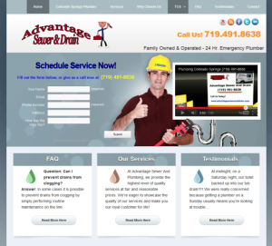 Themed Lead Generation Website